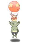 気球ヘアー