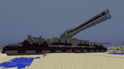 【Minecraft】拠点防衛車両の紹介