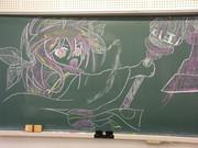 黒板ラクガキ琴里ちゃん