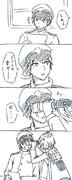 雪風ちゃんと司令官