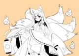【らくがき】狐っ娘