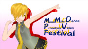 MMD-PVフェスティバル用公式ロゴ