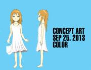 自主制作アニメのコンセプトアート