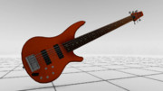 【MMD】Ibanez SR506のような6弦ベース【配布】