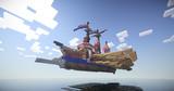 【Minecraft】 ガレー船完成しました。 【影MOD】