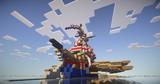 【Minecraft】 ガレー戦隊旗艦 「Rio Grande」 その1