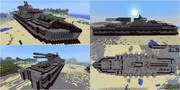 【Minecraft】陸上戦艦の紹介