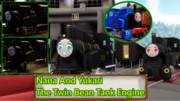【MMD鉄道】双子の豆タンク 奈々とゆかりセット【配布】