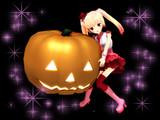MMD ハロウィンかぼちゃアクセサリ配布