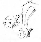 エルフ男 和風テイストなマゲはどうでしょう2013