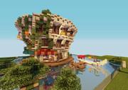 【Minecraft】ホテルinマングローブ