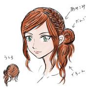 妖精っぽいヘアー