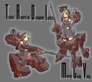 機動戦闘車 擬人化