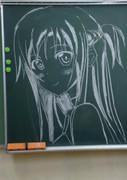 アスナin黒板
