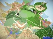 【Minecraft】天空の城ラピュタ再現 この10ヶ月の経過
