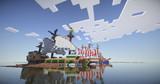 【Minecraft】 ガレー船 旗艦と並走