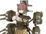 【MMD】航空戦艦 伊勢改 出…まだ出れない!【艦これ】