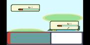 ポケモンの戦闘画面 R・S