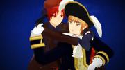 2Pフェリ&海賊紳士
