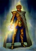 黄金聖闘士 獅子座のアイオリア