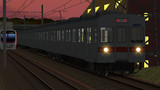 【RailSim】 夕暮れの回送列車