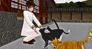 【APヘタリアMMD】日本と猫