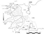 アハーン大陸・西方MAP(ワースブレイド)