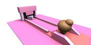 チョコモ ボーリング