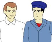 フランツ・ホフマンとスコーピオ号の乗組員?
