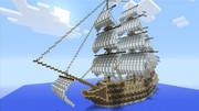 ガレオン船 -HMS Dark- Minecraft Xbox360