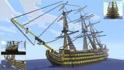 戦列艦 -HMS Hellfire- Minecraft Xbox360