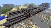 【Minecraft】装甲列車を一部紹介