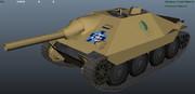 38(t)戦車改完成予想図