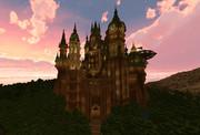 【Minecraft】木彫の古城 ゼルコヴァ