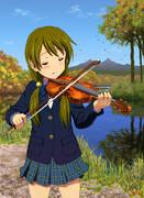 ヴァイオリン!