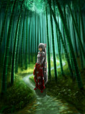 迷いの竹林の少女