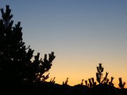 部室からの風景 ~黄昏時