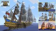 ガレオン船 -HMS Royal Seas- Minecraft Xbox360