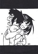 【切り絵】で神田&アルマ
