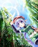 旅する系の森エルフ