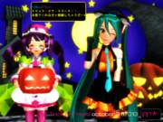 【ミク・りおん】Happy Halloween!!【10月31日はハロウィン】