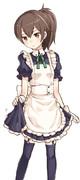 加賀さんのウェイトレス姿が可愛かったので