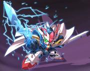 魔竜剣士ゼロガンダム