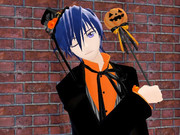 お菓子をあげてもいたずらしそうなKAITO兄さん←