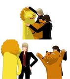 ライオンは被らないらしい