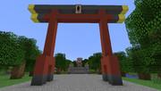 鶴岡八幡宮(マインクラフト)