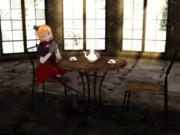廃墟のお茶会