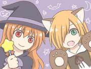 魔女っ子と狼少女