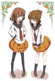 ハロウィン らしいので かぼちゃパンツ