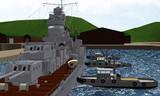 港の働き者